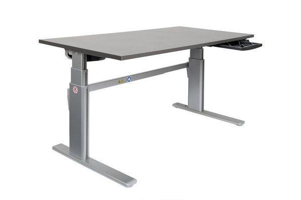 Höhenverstellbarer Schreibtisch - Alu Tischgestell