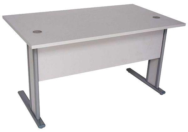 1A Schreibtisch mit Sichtschutz