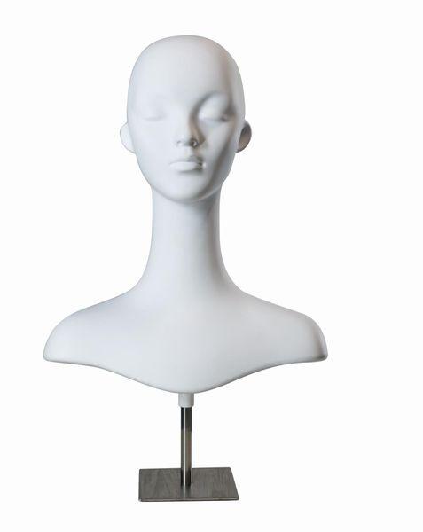 Damenkopf mit Standfuß