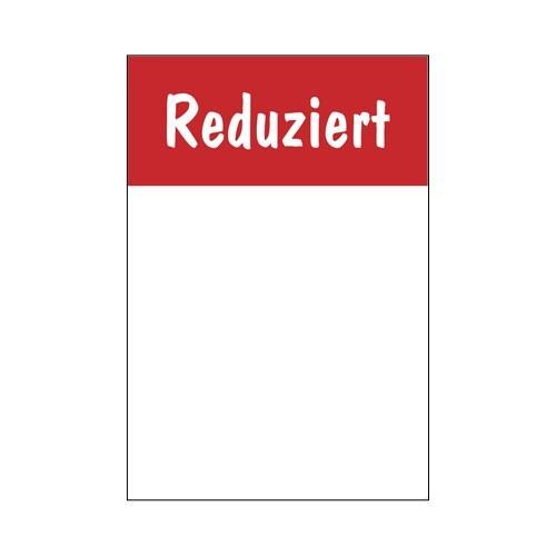 """Rahmenschild """" Reduziert """" - beschriftbar"""