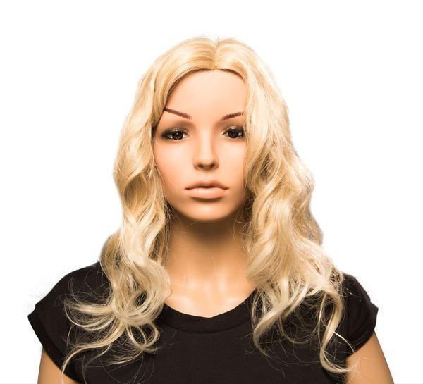 Damen Perücke blond gelockt