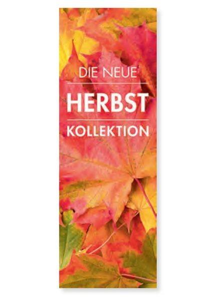 """Plakat """" DIE NEUE HERBST KOLLEKTION """" - hoch"""