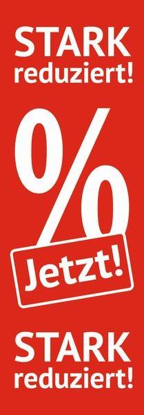 "Plakat "" JETZT! STARK reduziert! """