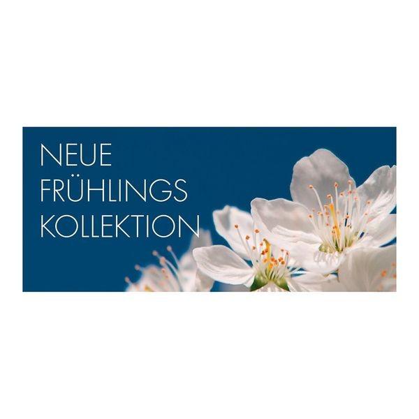 "Plakat "" NEUE FRÜHLINGS KOLLEKTION "" - quer"