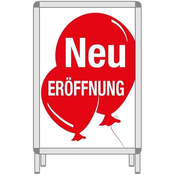 Rahmenplakat - Neu ERÖFFNUNG