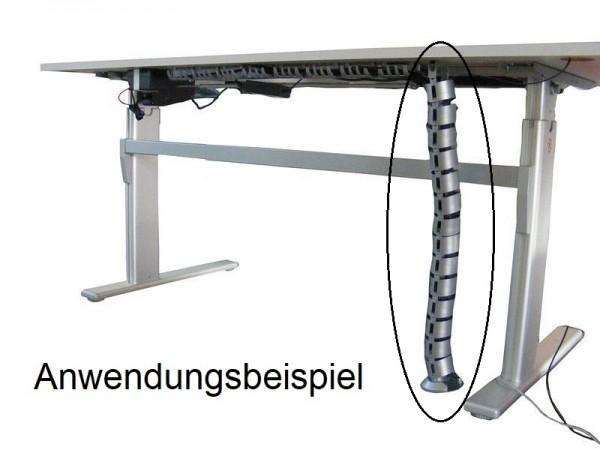 Vertikaler Kabelkanal für Schreibtische