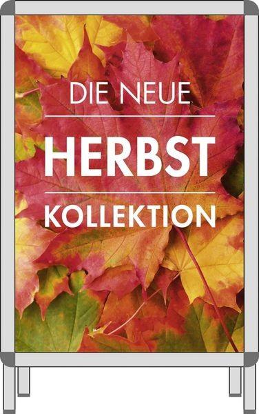 """Plakat für Rahmen """" DIE NEUE HERBST KOLLEKTION """""""