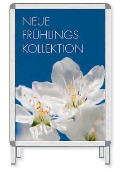 "Plakat für Rahmen "" NEUE FRÜHLINGS KOLLEKTION """