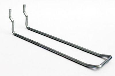 Doppelhaken für Metallrückwände Ø=3,4 mm