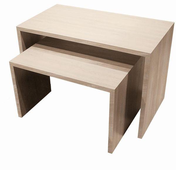 """Stufentisch Set """" DUB """" - 2 Tische"""