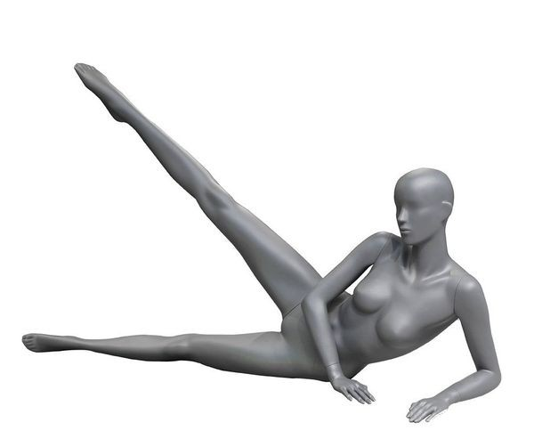 Sportfigur Dame Aerobic/Yoga