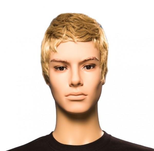 Herren-Perücke blond