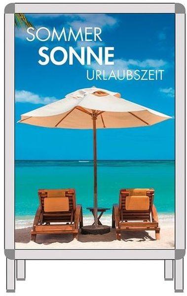 """Plakat für Rahmen """" SOMMER - SONNE - URLAUBSZEIT """""""