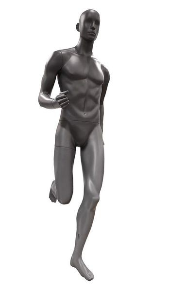 Sportfigur Herr Running