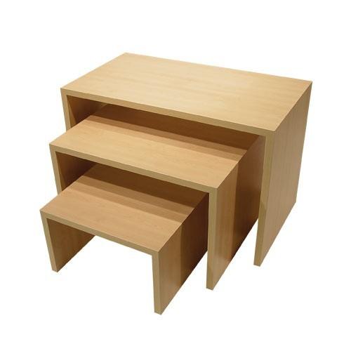 """Stufentisch Set """" DUB 1 """" - 3 Tische"""