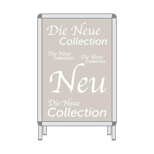 Rahmenplakat - Die Neue Collektion
