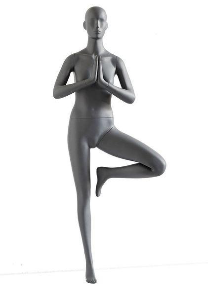 Sportfigur Dame Yoga / stehend