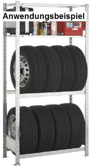 Längsträger SET für Reifenregale