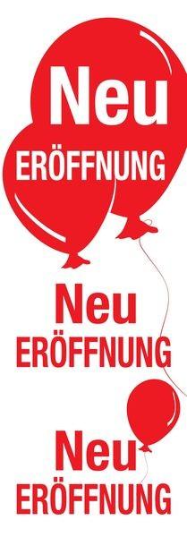 """Plakat """" Neu Eröffnung """""""