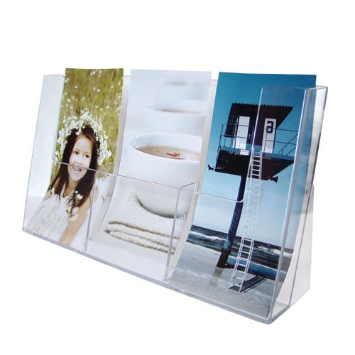 Prospektständer - Box 3-teilige - 1/3 DIN A4