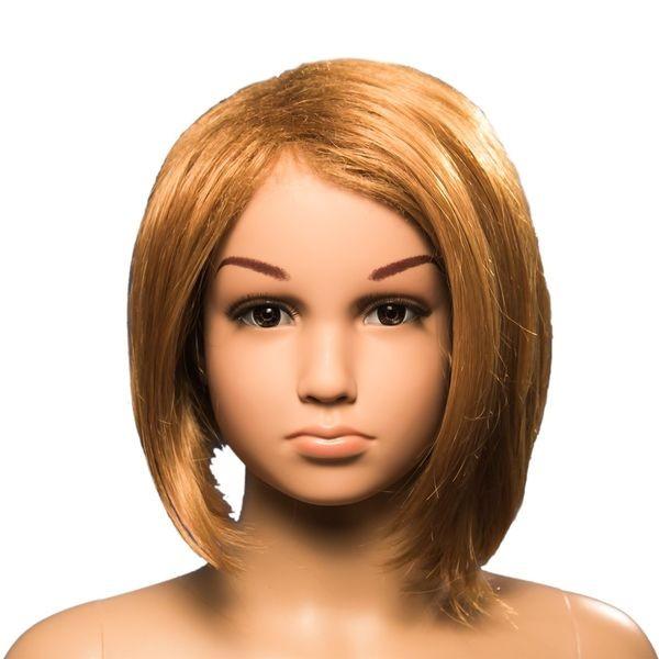 Kinder-Perücke Mädchen blond