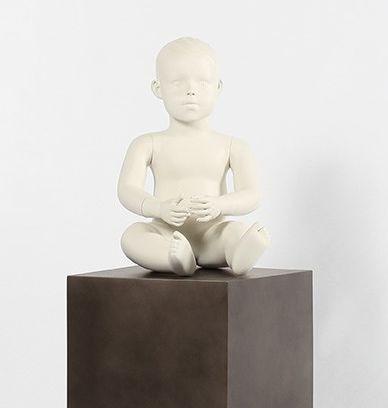 Babyfigur unisex sitzend 0-1 Jahr