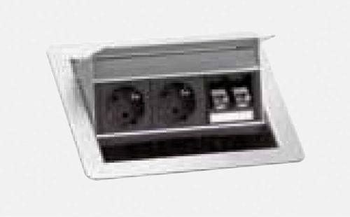 2er Steckdosenleiste und 2 Modular-Adapter