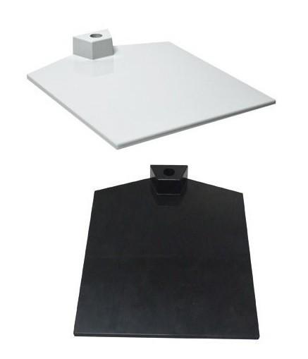Fußplatte eckig für Plakatrahmen