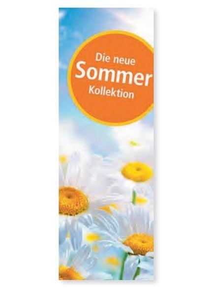 """Plakat """" Die neue Sommer Kollektion """" - hoch"""