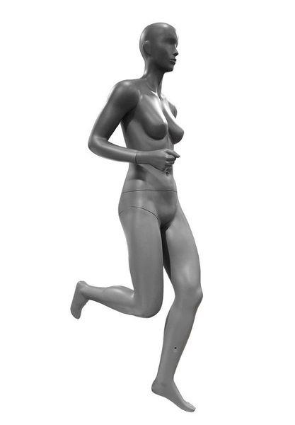 Sportfigur Dame Running