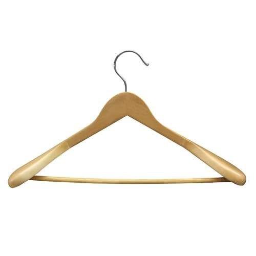 Kleiderbügel - Anzugbügel, mit Steg, gewinkelt