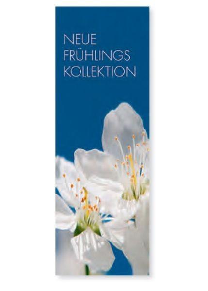 """Plakat """" NEUE FRÜHLINGS KOLLEKTION """" - hoch"""