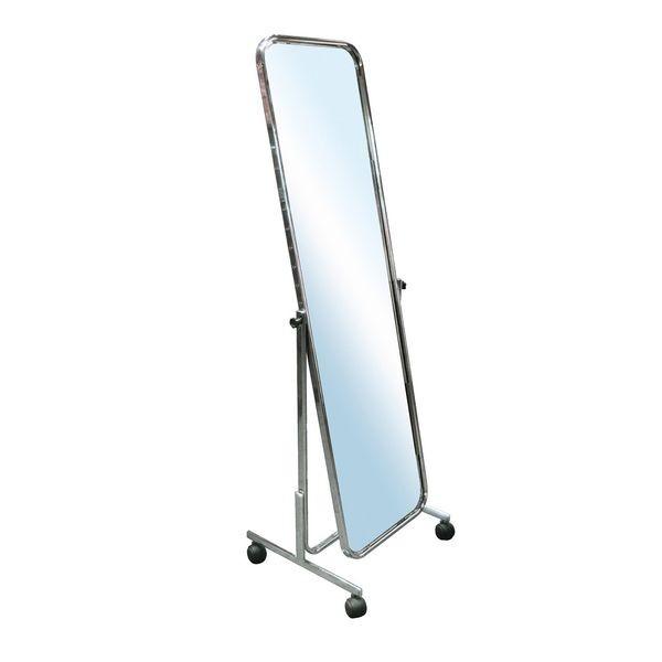 Standspiegel fahrbar, verstellbar