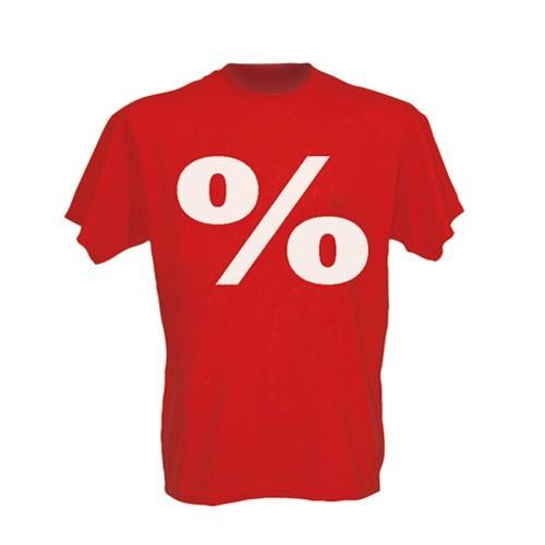 """T-Shirt - Aufdruck """" % """""""